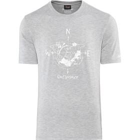 Schöffel Perth1 Miehet Lyhythihainen paita , harmaa